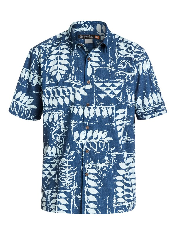 0 Men's Kings Point Short Sleeve Shirt  AQMWT03089 Quiksilver