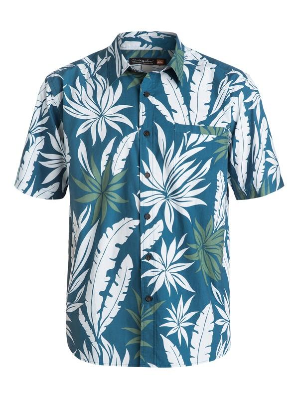 0 Men's Aventura Short Sleeve Shirt  AQMWT03090 Quiksilver