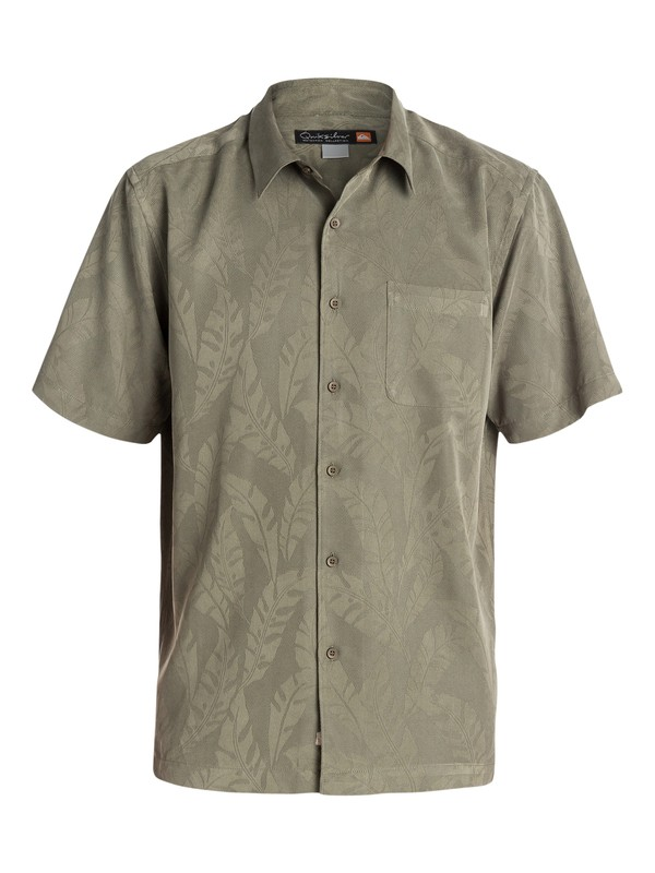0 Men's Rockport Short Sleeve Shirt  AQMWT03091 Quiksilver