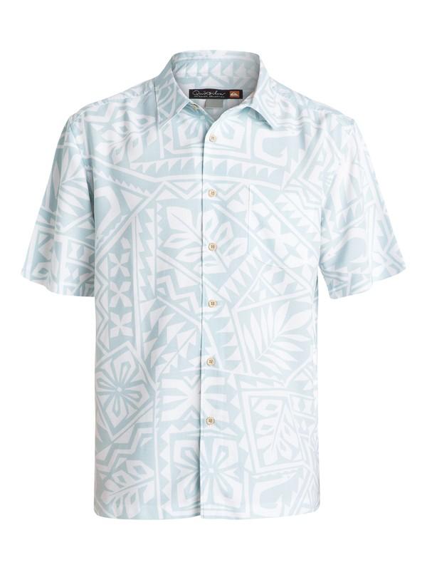 0 Men's North End Short Sleeve Shirt  AQMWT03093 Quiksilver