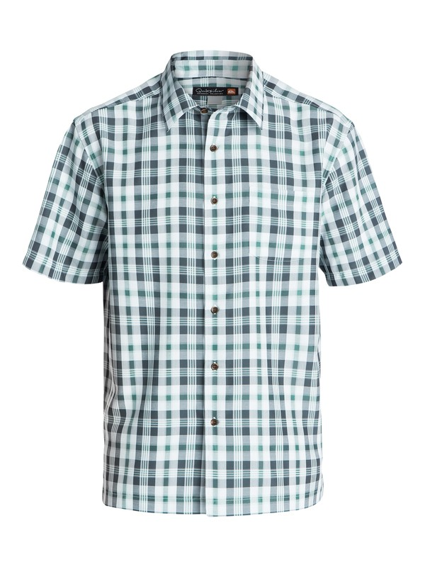 0 Men's Westbrook Short Sleeve Shirt  AQMWT03095 Quiksilver