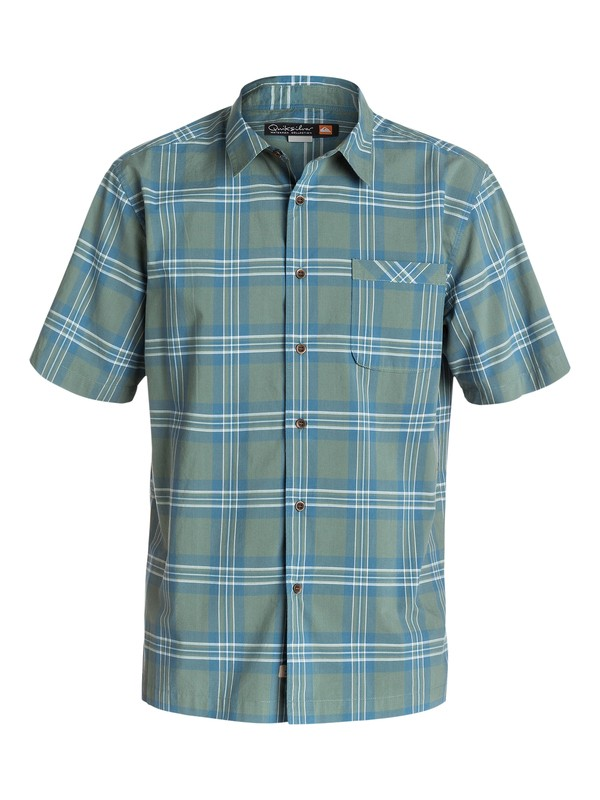 0 Men's Beauport Short Sleeve Shirt  AQMWT03098 Quiksilver
