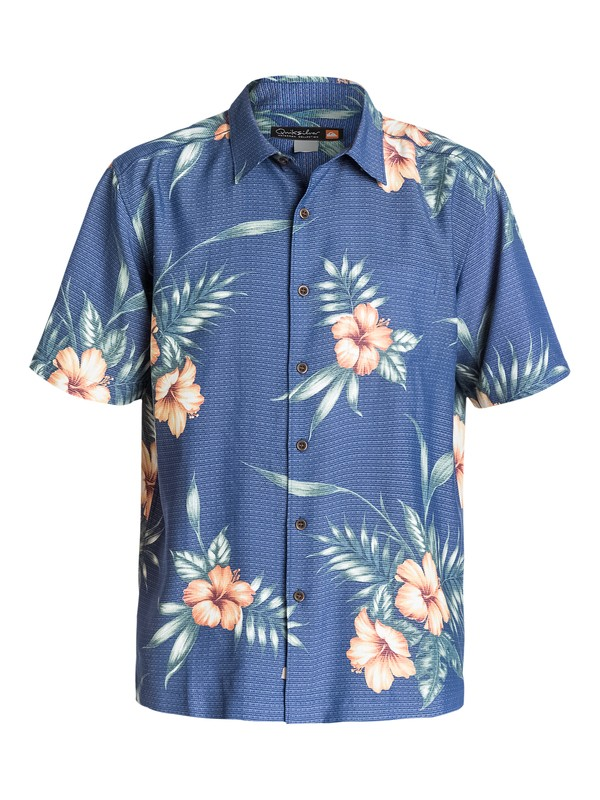 0 Men's Summerside Short Sleeve Shirt  AQMWT03099 Quiksilver