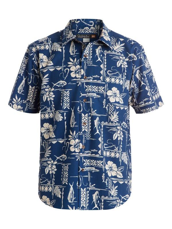 0 Men's Seagate Short Sleeve Shirt  AQMWT03100 Quiksilver