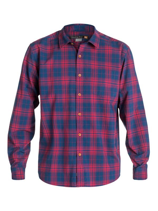 0 Men's Marshall Long Sleeve Shirt  AQMWT03109 Quiksilver