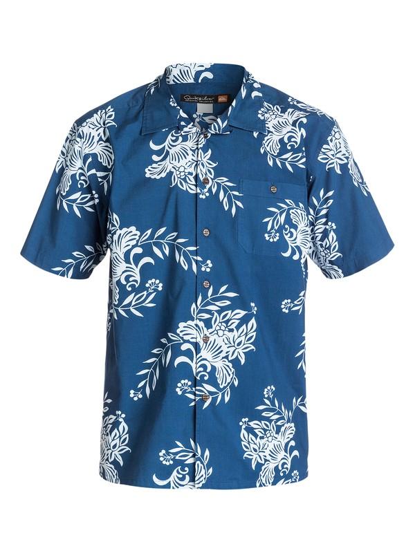0 Men's Rivieras Short Sleeve Shirt  AQMWT03110 Quiksilver