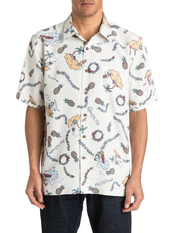 0 Men's Jolly Short Sleeve Shirt  AQMWT03134 Quiksilver