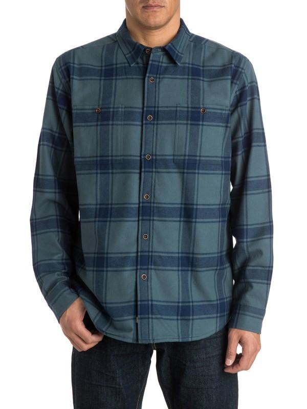 0 Men's Sierra Long Sleeve Shirt  AQMWT03144 Quiksilver