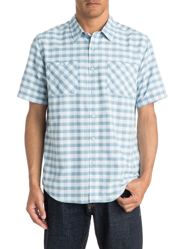 0 Mens Wake Short Sleeve Shirt  AQMWT03171 Quiksilver
