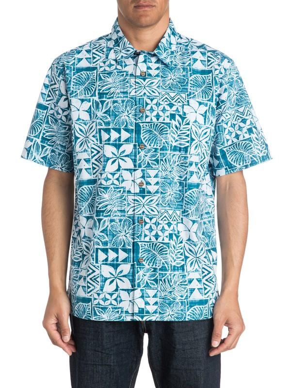 0 Mens Salani Short Sleeve Shirt  AQMWT03172 Quiksilver