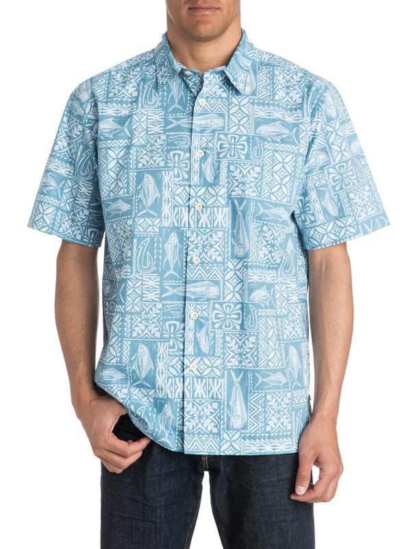 0 Mens Guru Short Sleeve Shirt  AQMWT03180 Quiksilver