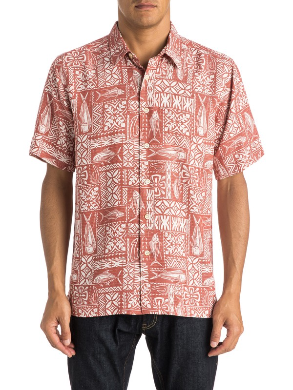 0 Waterman Sage Advice  Shirt  AQMWT03223 Quiksilver