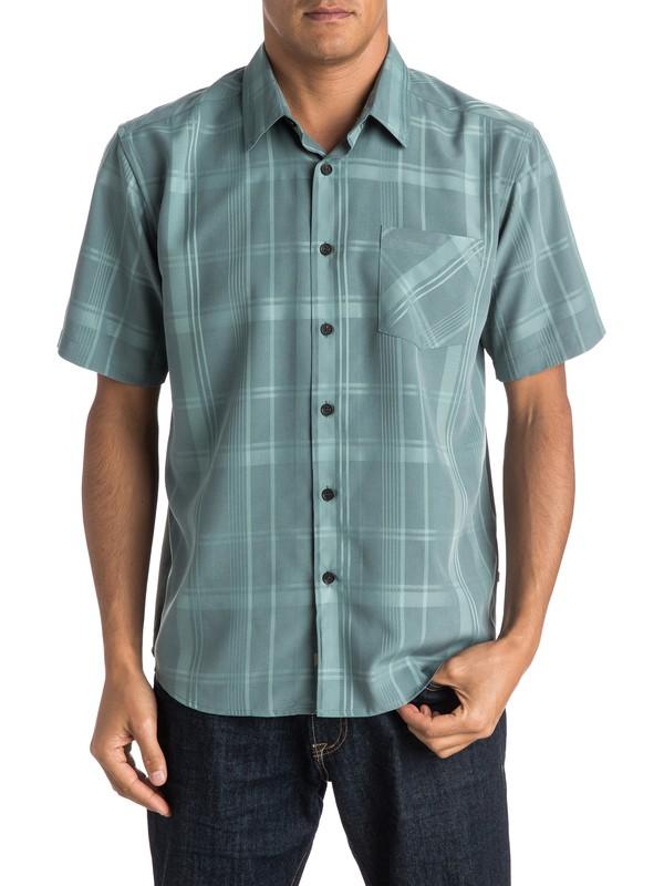 0 Waterman Clear Path Short Sleeve Shirt  AQMWT03241 Quiksilver
