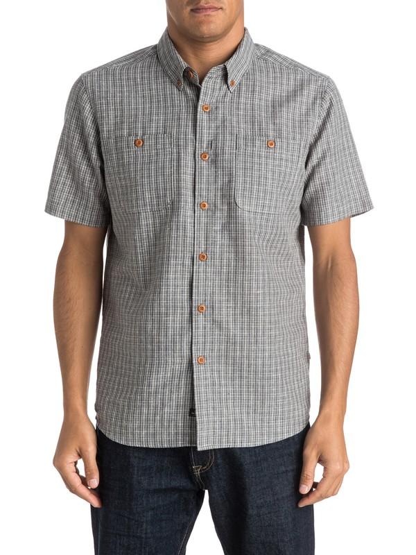 0 Waterman Fully Calibrated Short Sleeve Shirt  AQMWT03243 Quiksilver