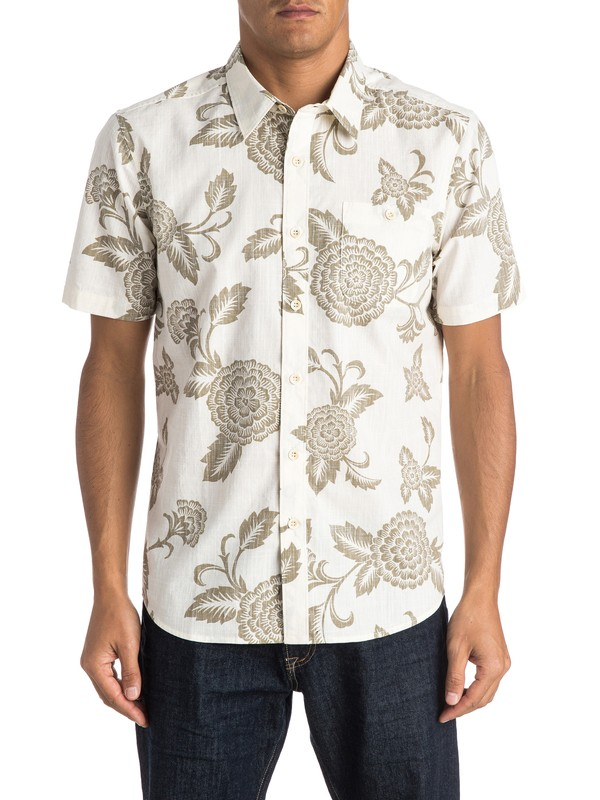 0 Waterman Happy Hour Short Sleeve Shirt  AQMWT03256 Quiksilver