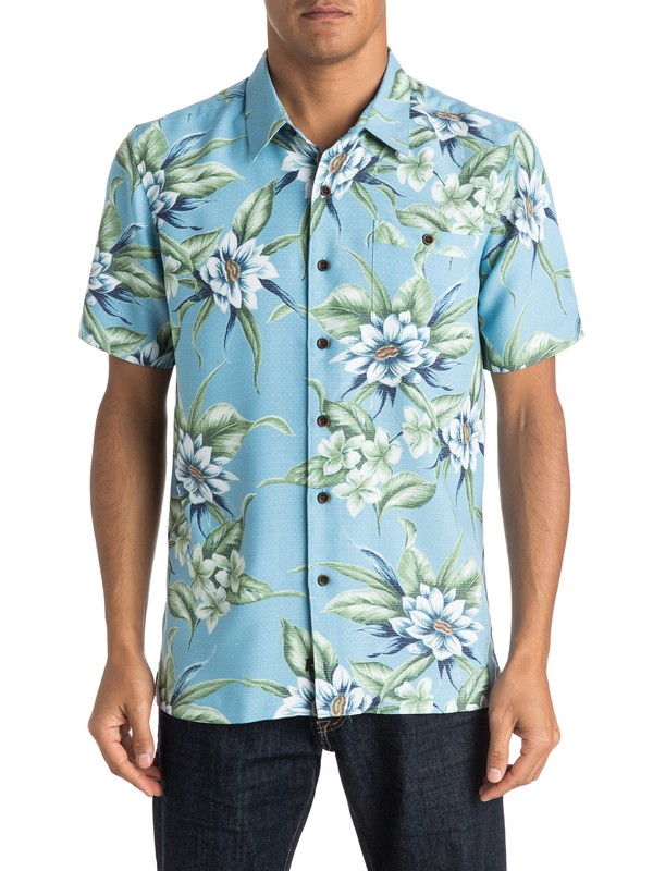 0 Waterman Kahuku Point Short Sleeve Shirt  AQMWT03269 Quiksilver