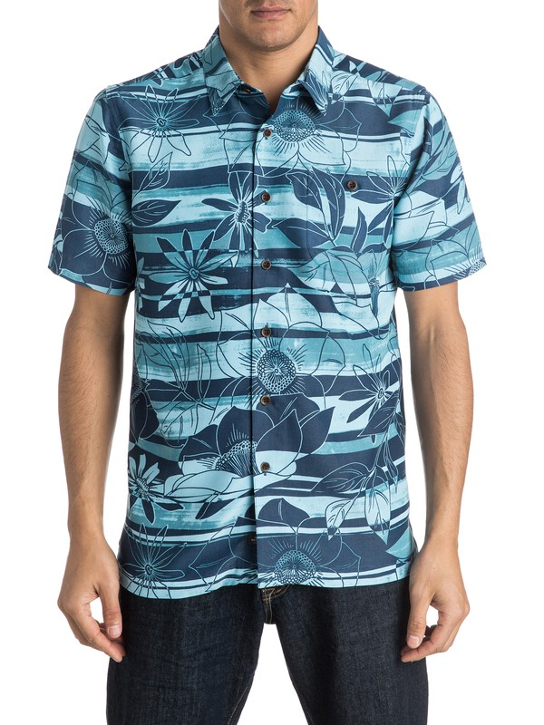 0 Waterman Cannon Beach Short Sleeve Shirt  AQMWT03296 Quiksilver