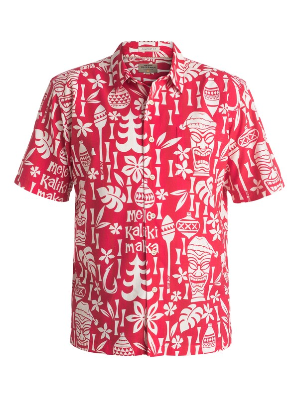 0 Waterman Yuletide Mirth Short Sleeve Shirt  AQMWT03297 Quiksilver
