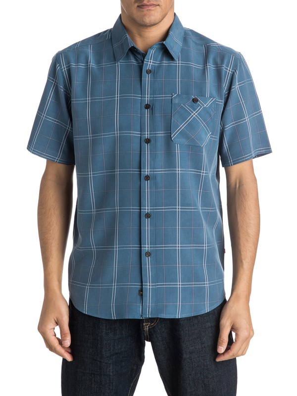 0 Waterman Half Hitch Short Sleeve Shirt  AQMWT03300 Quiksilver
