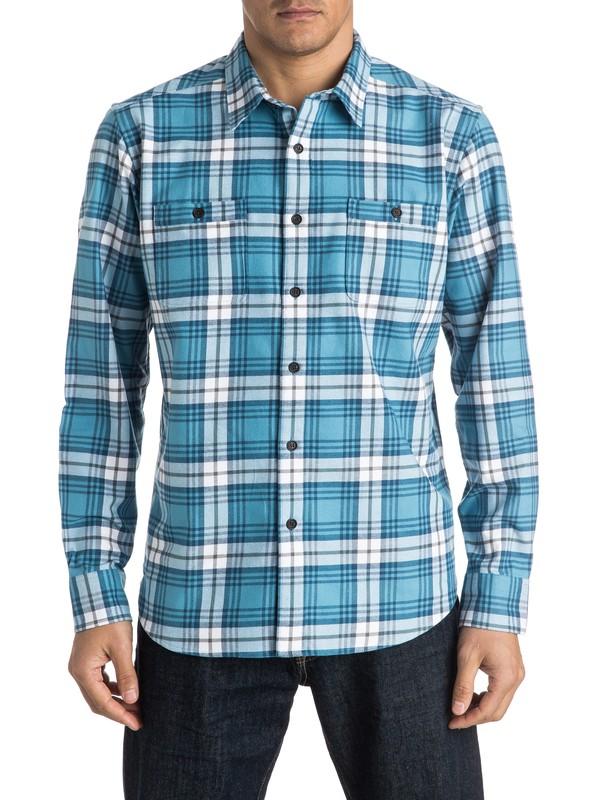 0 Waterman Peninsula Long Sleeve Shirt  AQMWT03301 Quiksilver