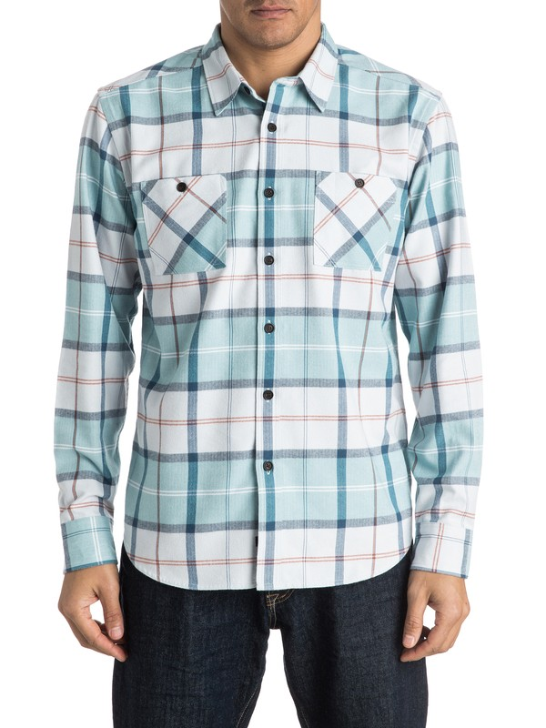 0 Waterman Day Hike Long Sleeve Shirt  AQMWT03302 Quiksilver