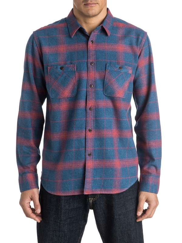 0 Waterman Go Forth Long Sleeve Shirt  AQMWT03303 Quiksilver