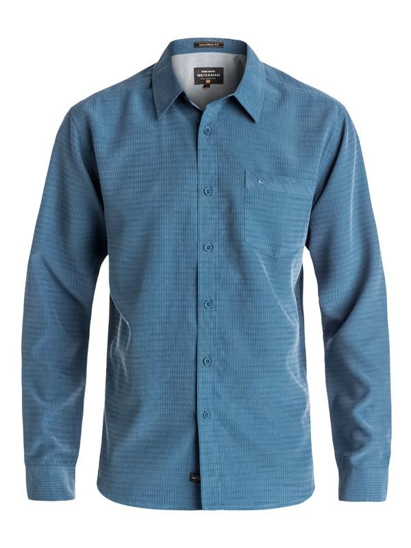 0 Waterman Centinela - Chemise à manches longues Bleu AQMWT03307 Quiksilver