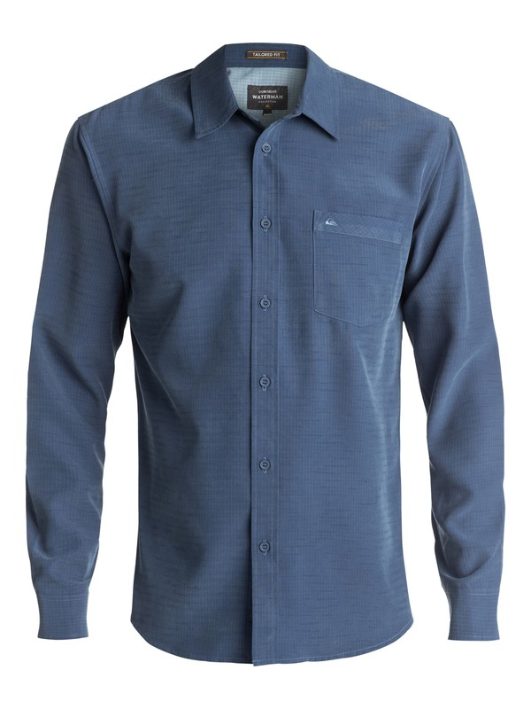 0 Waterman Centinela - Camisa De Manga Larga Azul AQMWT03307 Quiksilver