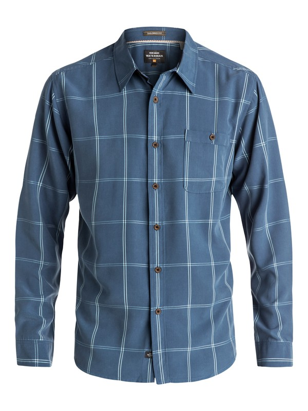0 Waterman Slow And Steady - Chemise à manches longues  AQMWT03308 Quiksilver