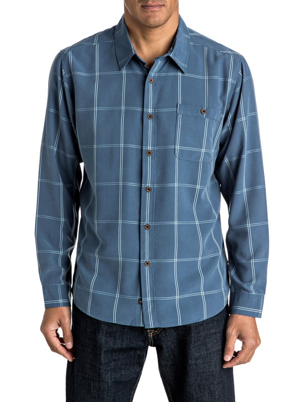 0 Waterman Slow And Steady Long Sleeve Shirt  AQMWT03308 Quiksilver