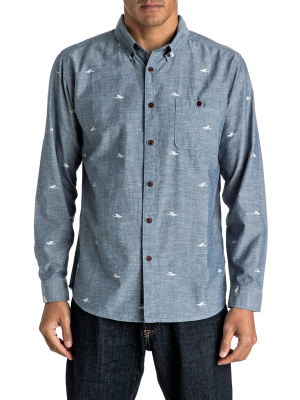 0 Waterman Post Haste Long Sleeve Shirt  AQMWT03309 Quiksilver