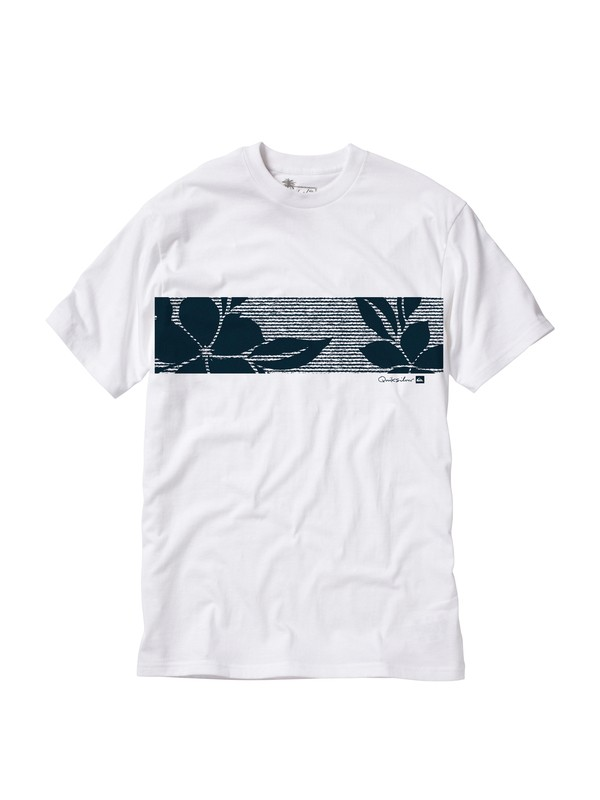 0 Men's Channel T-Shirt  AQMZT00040 Quiksilver