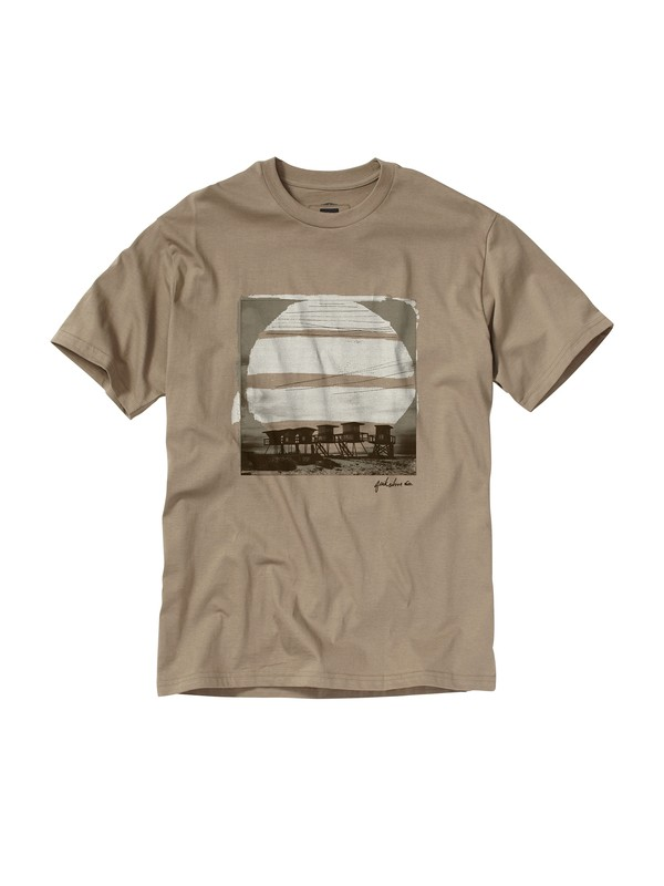 0 Men's State Of Mine T-Shirt  AQMZT00044 Quiksilver