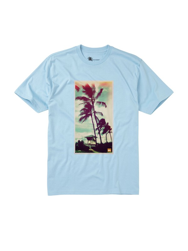 0 Men's Artifact T-Shirt  AQMZT00061 Quiksilver