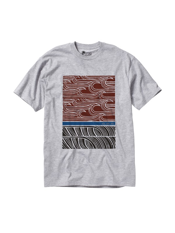 0 Men's Outer Banks T-Shirt  AQMZT00079 Quiksilver