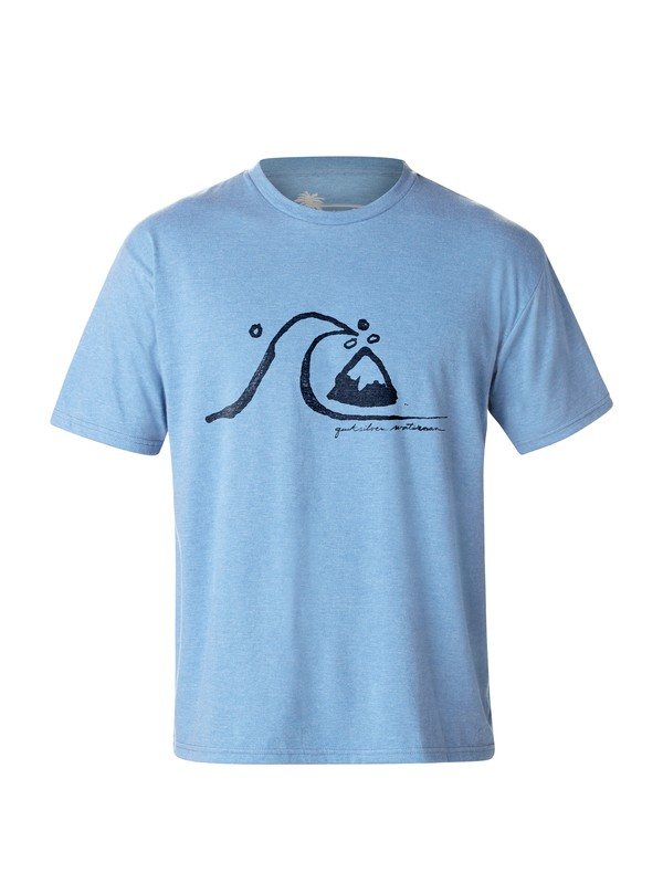 0 Men's Timeless T-Shirt  AQMZT03005 Quiksilver