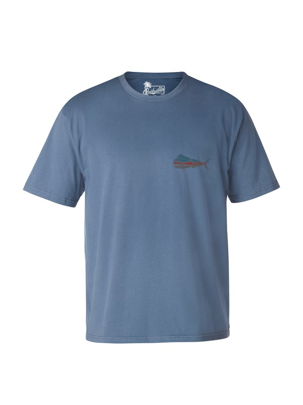 0 Men's Big Bull Mahi T-Shirt  AQMZT03007 Quiksilver