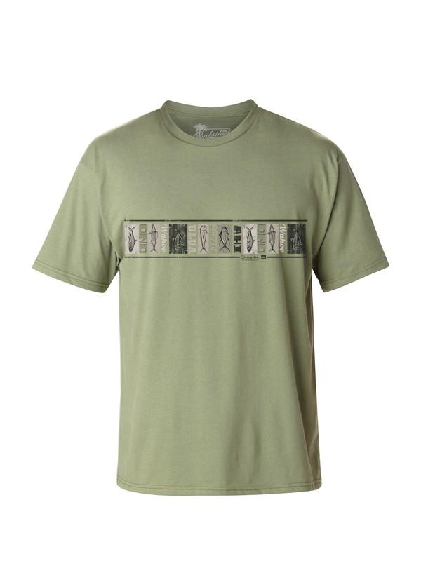 0 Men's Delgata T-Shirt  AQMZT03017 Quiksilver