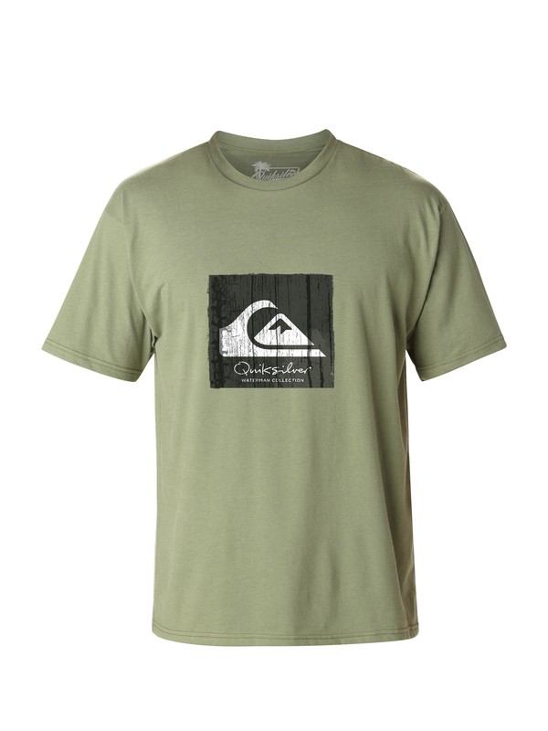 0 Men's Ritual T-Shirt  AQMZT03021 Quiksilver