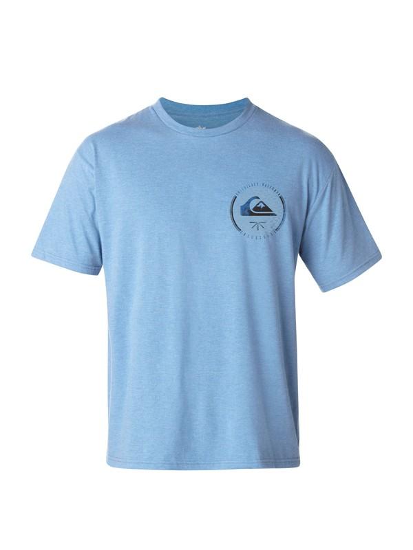 0 Men's Silver Seal T-Shirt  AQMZT03022 Quiksilver