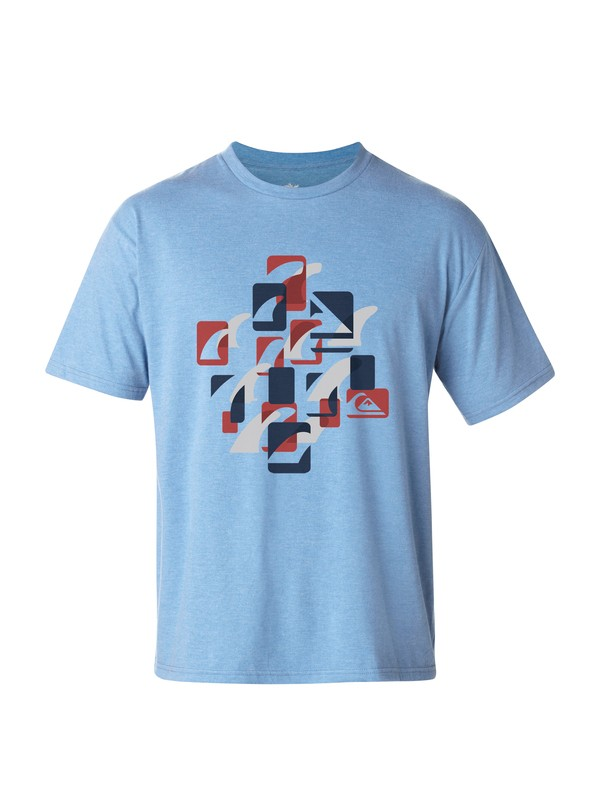 0 Men's Finley T-Shirt  AQMZT03025 Quiksilver