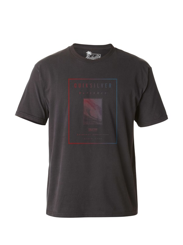 0 Men's Red Zone T-Shirt  AQMZT03027 Quiksilver