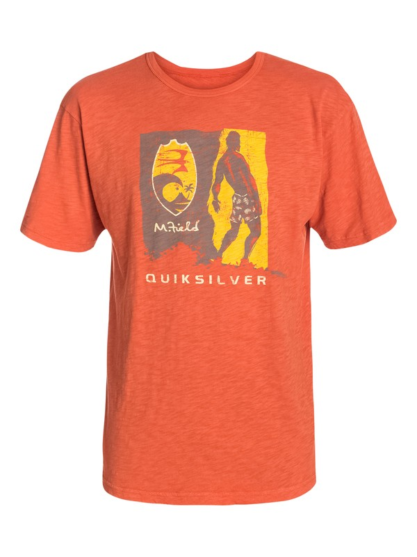 0 Men's Woodblock T-Shirt  AQMZT03033 Quiksilver