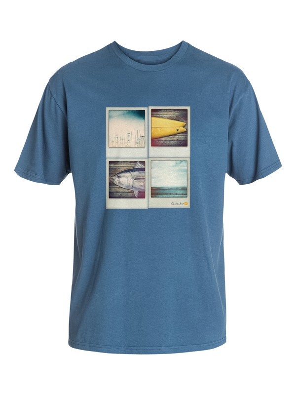 0 Men's Out And Out T-Shirt  AQMZT03042 Quiksilver