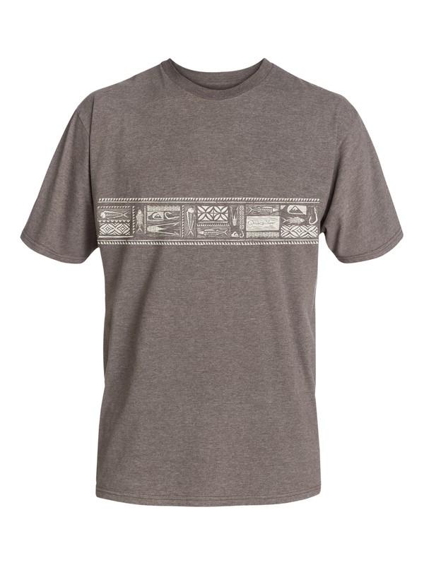 0 Men's Chisel T-Shirt  AQMZT03052 Quiksilver