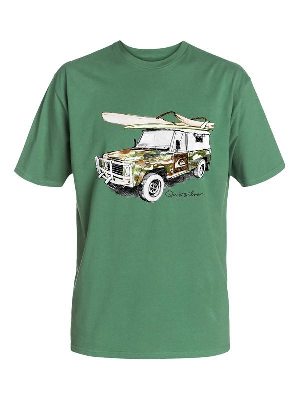 0 Men's Off Road T-Shirt  AQMZT03079 Quiksilver