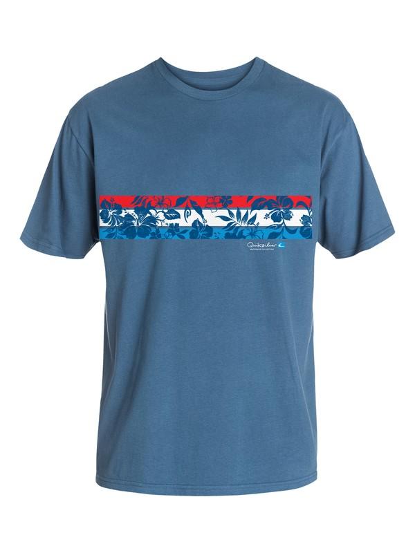 0 Men's Hibiscus Pride T-Shirt  AQMZT03092 Quiksilver