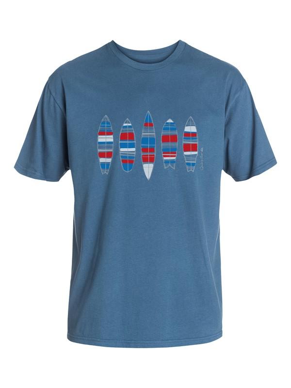 0 Men's Us Quiver T-Shirt  AQMZT03093 Quiksilver