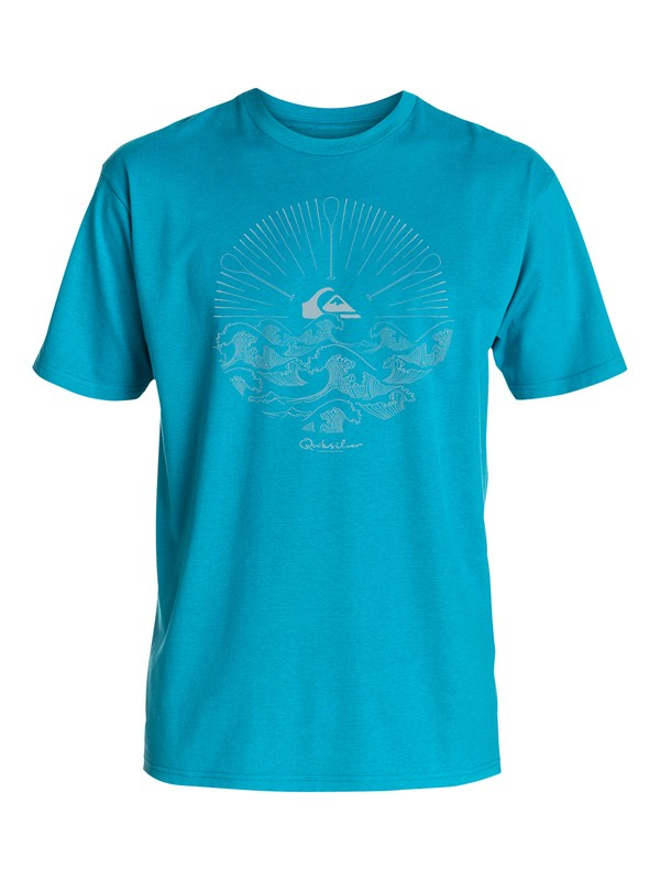 0 Men's Rising Paddle T-Shirt  AQMZT03116 Quiksilver