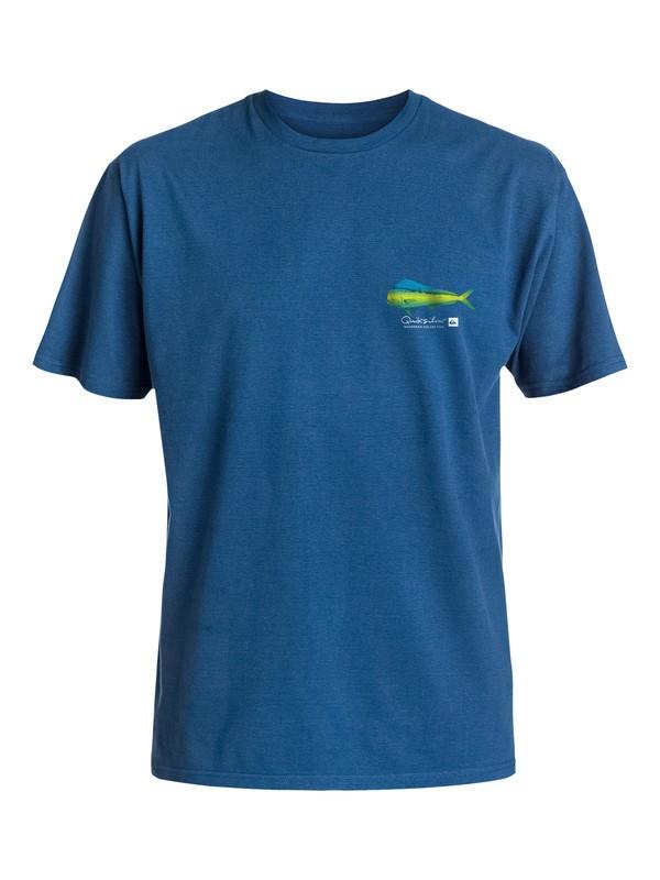 0 Men's Rainbow Scales T-Shirt  AQMZT03119 Quiksilver